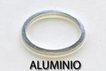 Washers and standard gaskets. Aluminio