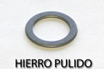 Washers and standard gaskets Hierro Pulido